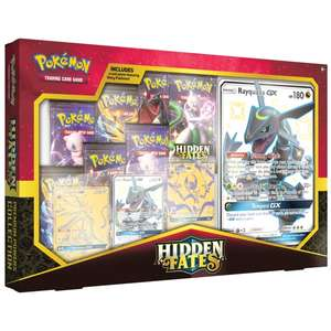 Pokémon Trading Card Game: Hidden Fates Premium Powers Collection - £45.49 delivered using code @ Smyths Toys