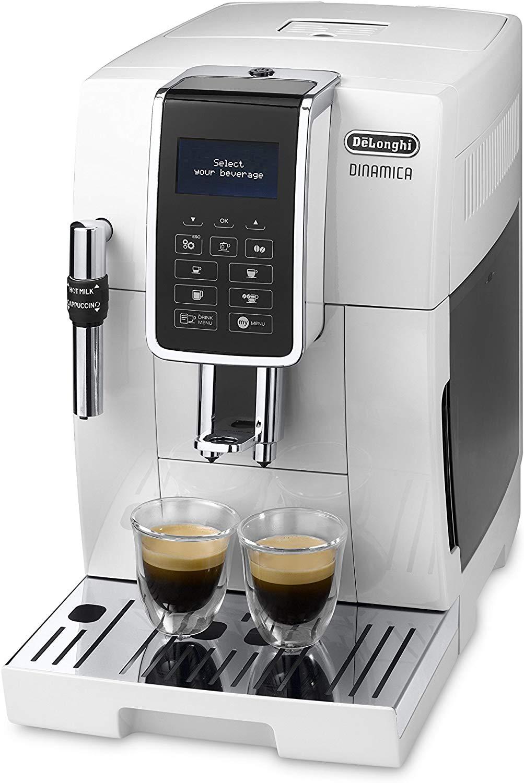 Delonghi Dinamica ECAM 350 bean to cup coffee machine White - £387.59 @ Amazon