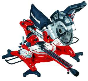 Einhell TC-SM 2131 1800w 240V Double Bevel 210mm Crosscut Mitre Saw with Laser - Red - £84.99 delivered @ Amazon