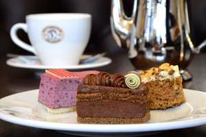 Afternoon Tea for Two at Patisserie Valerie - £10 with code at BuyaGift