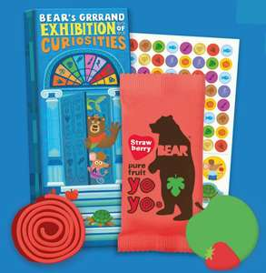 Free Bear Card Collector's Kit from Bear Nibbles