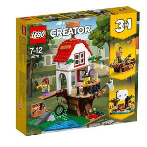 Lego 31078  Creator 3 in 1 Treehouse Treasures £20 in store and online Asda