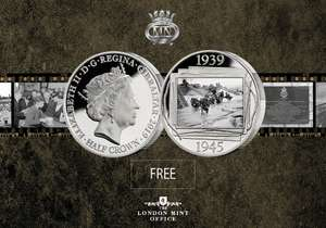 D-day 75th Anniversary Coin - Just Pay £2.50 Postage @ London mint office