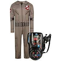 Adult Halloween Ghostbusters Costume & Inflatable Proton Pack, Now £10 (Choice of 2 designs) @ Asda (Free Click & Collect)