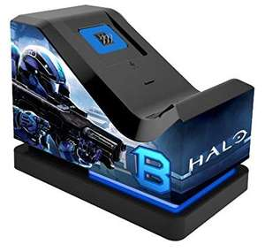 Halo 5 Guardians: Official Charging Stand (Includes Rechargeable Battery Pack) (Xbox One) - £16.10 Prime (+£4.49 non-prime) @ Amazon