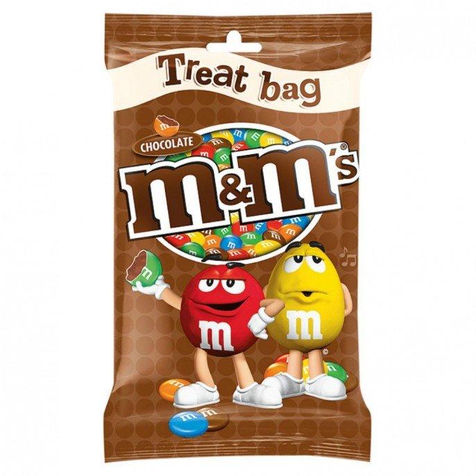 M&M'S CHOCOLATE TREAT BAG 77G 29p @ Poundstretcher (Northwich)