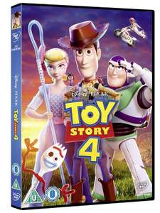 Toy Story 4 DVD for £5 with £50 spend at Morrisons