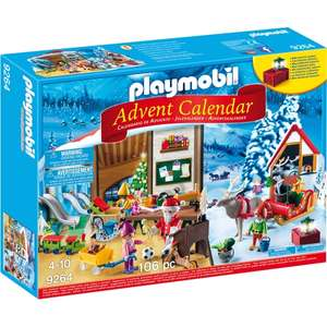 Playmobil 9264 Advent Calendar Santa's Workshop now £14.99 @ Smyths Delivered for Acc Holders or Free Click & Collect