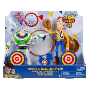 Toy Story Woody And Buzz 2 Pack £15 @ Tesco