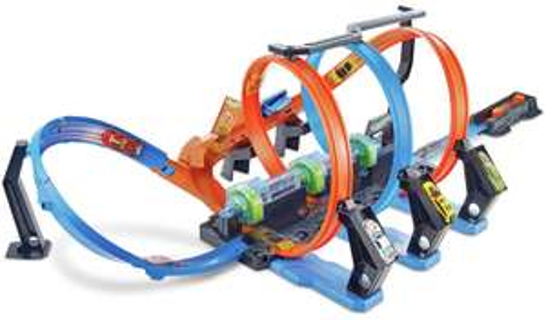Hot Wheels Corkscrew Crash Track Set - £25 @ Argos - Free C&C