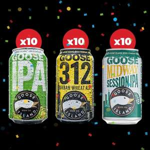 Goose island party pack 30 for £30 @ Beerhawk (£4.99 P&P)