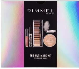 Rimmel The Ultimate Kit Gift Set with Compact Mirror £14 at Amazon Prime / £18.49 Non Prime