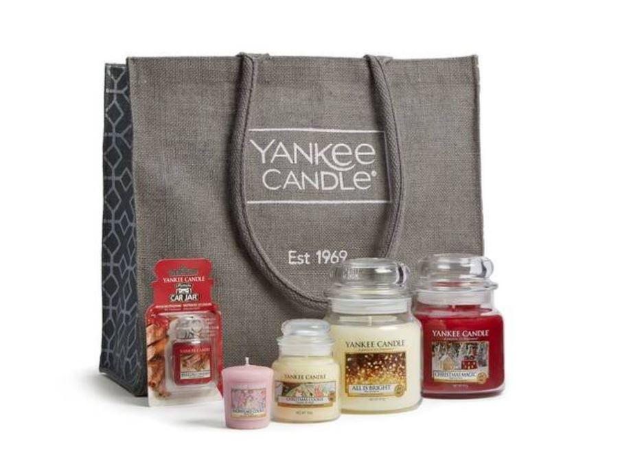 Festive Goodie Bag - £29.99 at Yankee Candle Shop