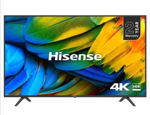"Hisense 65"" H65B7100 4K UHD Smart TV  £479.98 @ Costco with a 5 year warranty"