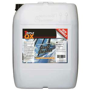 TRIPLE QX Glass Cleaner 20Ltr £5.35 at Euro Car Parts