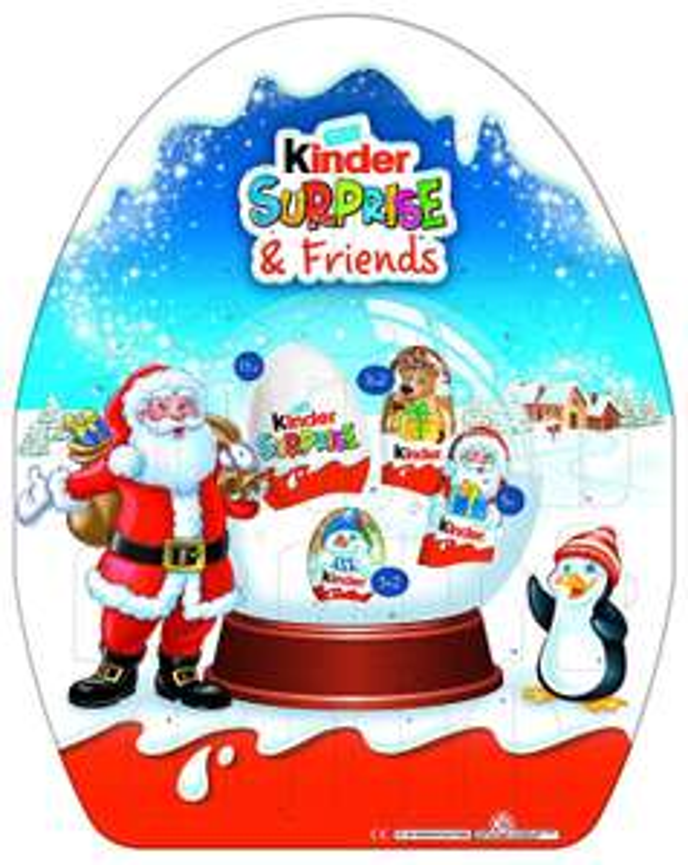 Kinder surprise and friends advent calendar - £11.98 including VAT instore @ Costco