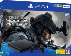PS4 Slim 500GB Call of Duty Modern Warfare bundle £199.99 from eBay Argos using code