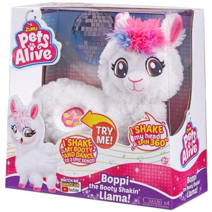 Zuru Pets Alive Boppi the Booty Shakin' Llama £14.99 @ Hylton retail park B&M