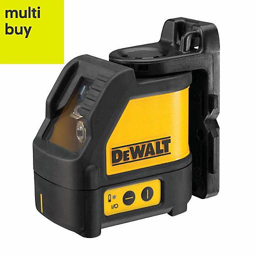 DeWalt DW077K Self-Levelling Line Laser and the DeWalt DE0892 Detector for £150 delivered @ B&Q