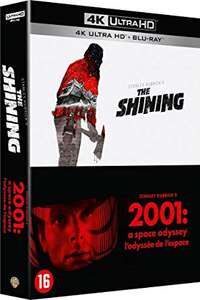 2001 and The Shining 4K Blu-ray Double Pack £26.07 incl delivery from Amazon France