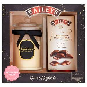 Bailey's candle and chocolate - £10 @ Tesco