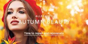 Free next day delivery orders over £20 using code at All Beauty