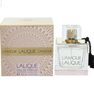Lalique L'Amour EDP 100ml online @TK Maxx £24.99 & £1.99/£3.99 delivery