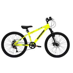 "Barracuda 24"" kids mountain bike £125 delivered from GoOutdoors"