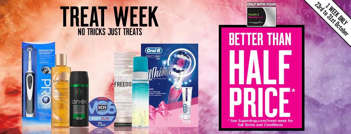 Superdrug week long deals eg. San tropez false tan £15.45 for members