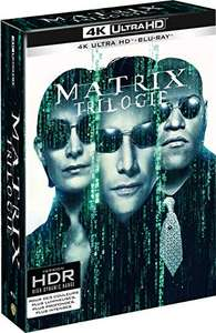 The Matrix Trilogy (Limited Edition 4K Ultra HD + Blu-ray BoxSet) £29.89 (£28 with fee free card) Delivered @ Amazon France
