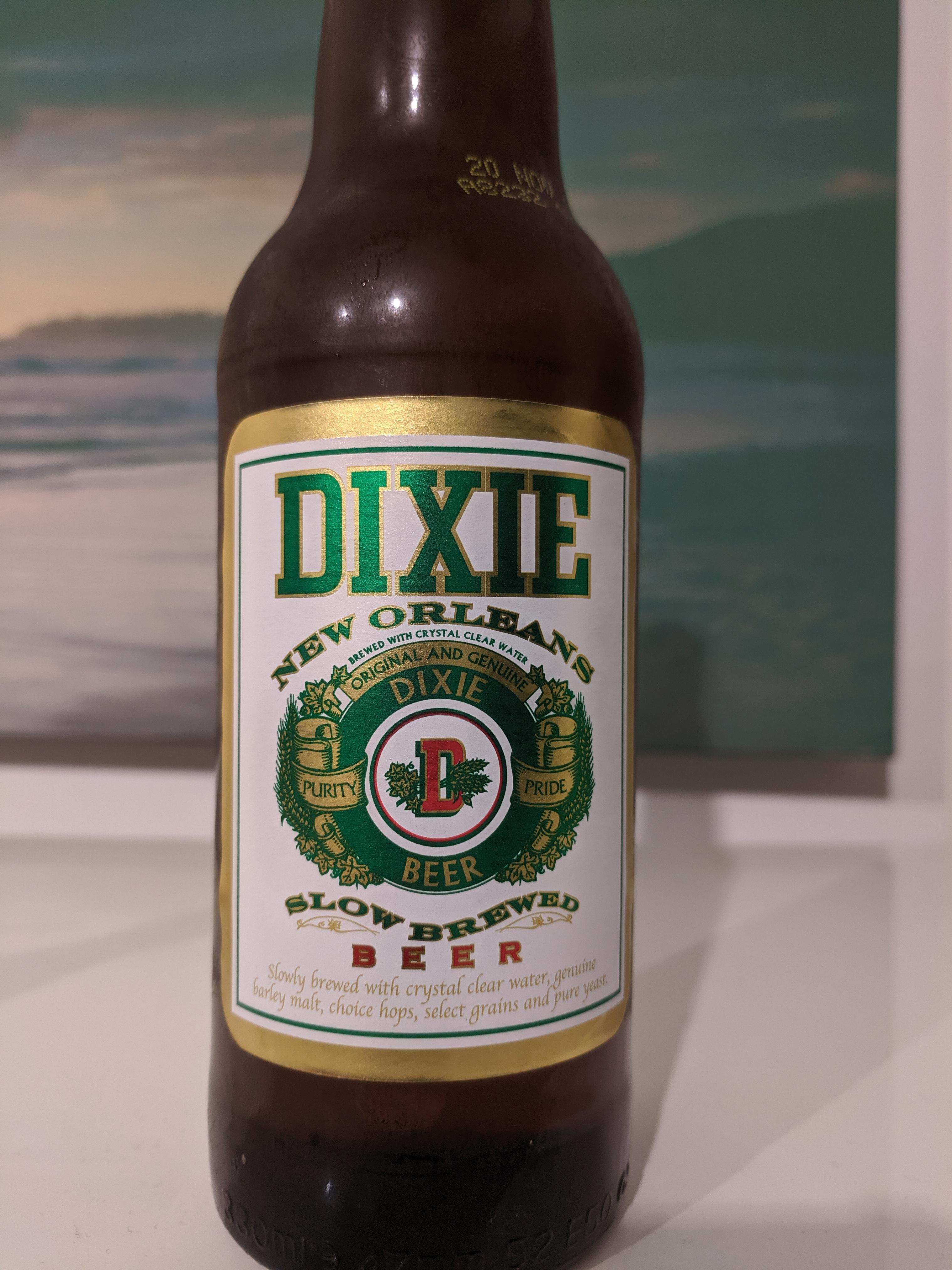 Dixie 'New Orleans' Beer £0.79 bottle (330ml - UK brewed) 79p @ Home Bargains