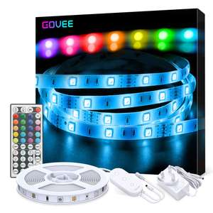 LED Strip Lights, Govee 5 Metre RGB Colour Changing Lighting Strip £14.44 + £4.49 delivery Non Prime Sold by Govee UK Fulfilled by Amazon.