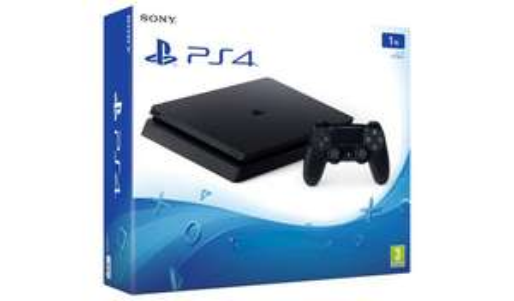 PS4 1TB Console + 1 Game + 1 Blu-Ray + £10 Voucher - £259.99 @ Argos