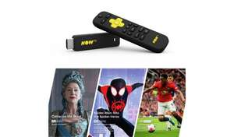 NOW TV Stick-Entertainment, Sky Cinema & Sky Sports Day Pass £19.99 @ Argos