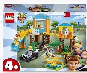 LEGO Toy Story 4 10768 Buzz and Bo Peep's Playground Adventure £13.33 + £2 Click & Collect at John Lewis & Partners