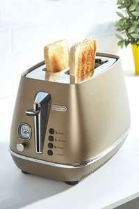 Delonghi Distinta Bronze 2 Slice Toaster at Studio for £29.99