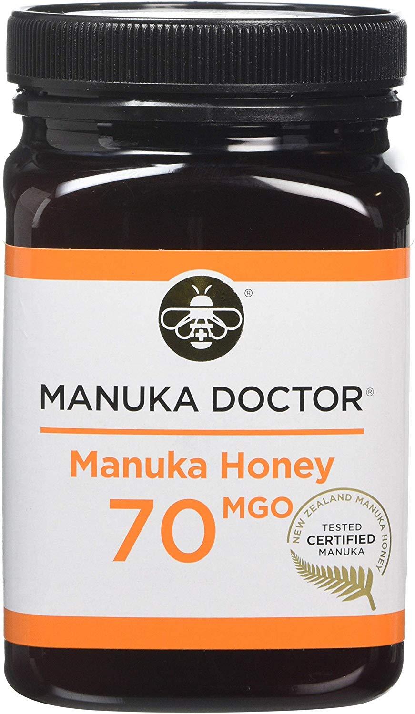 Manuka Doctor 70 MGO Manuka Honey, 500 g £21.99 @ Amazon