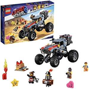 LEGO 70829 Movie 2 with Emmet, Lucy and Sharkira Minifigures, 3 Buildable Figures and Exploding Vehicle Set at Amazon £22.50