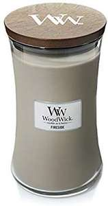 WoodWick Large Hourglass Scented Candle, Fireside £17.70 at Amazon Prime / £22.19 Non Prime