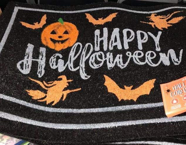 Halloween door mat £2.36 @ Costco (Glasgow)