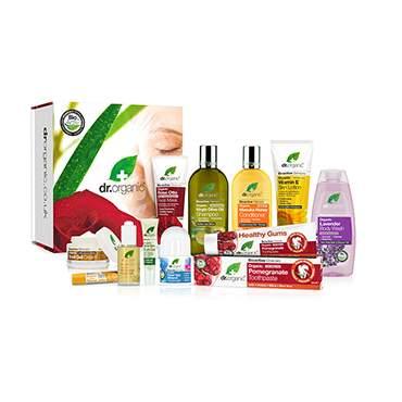 2 x Dr Organic Bundle Gift Packs - £44.72 with code (Also 20% cashback & £2.50 bonus @ TopCashback) @ Holland & Barrett