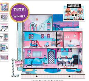 L.O.L Surprise House with Real Wood and 85+ Surprises, 2019 version @ Amazon £159.97