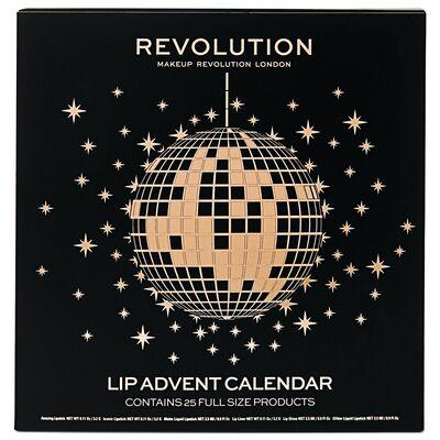 Makeup Revolution advent lip calendar instore at B&M for £15