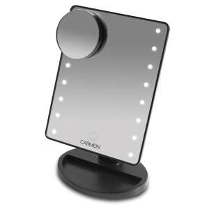 Carmen Noir LED Illuminated Mirror £6.74 with code @ Robert Dyas (Free Click and Collect) 3 Year Guarantee