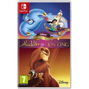 Disney Classic Games: Aladdin and The Lion King £25.95 on Nintendo Switch, PS4 & XBOX at The Game Collection