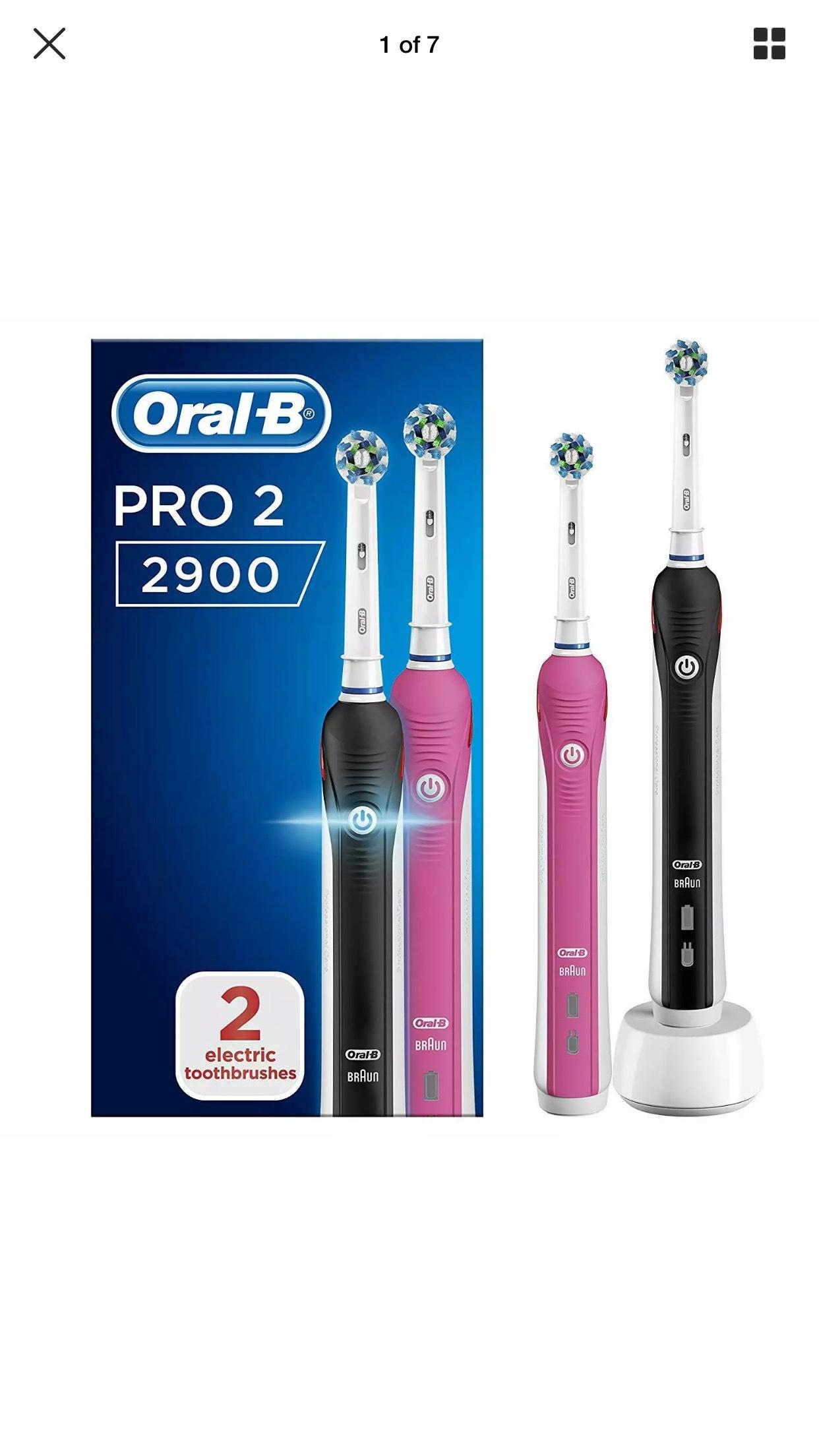 Oral-b pro 2 2900 pack of 2 at Ebay/Avantgardebrands for £39.99
