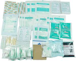 160 Piece First Aid Kit Bag Refill Kit £9.65 Prime / £13.64 non-Prime Sold by General Medika and Fulfilled by Amazon