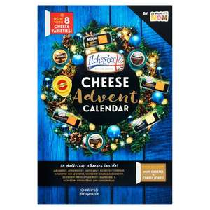 Ilchester Cheese Advent Calendar 480g £10 at Ocado £2.99 delivery or add on to shop for free delivery