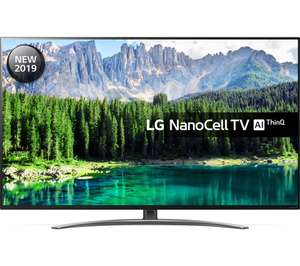 """LG 55SM8600PLA 55"""" Smart 4K Ultra HD TV with Nano Cell, HDR10, Dolby Vision and Dolby Atmos at ao.com for £701.10"""