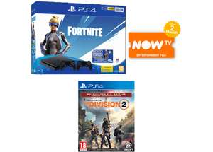 500GB Playstation 4 Fortnite Neo Versa Bundle With 2 Controllers + Division 2 Washington DC Edition And 2 Months Now Tv @ Game £209